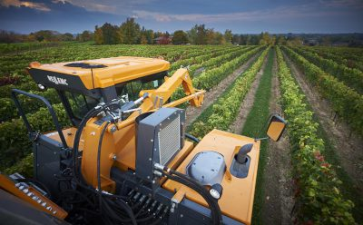 harvester vineyard